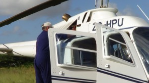 Our services - lease a helicopter for work in Southern Africa
