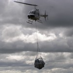 Air cargo - under slung